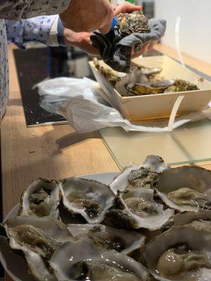 oesters open maken oudjaar 2020