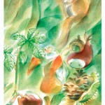 Kaart Kunst im Wald marie laure viriot