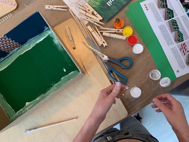Little Creations, de leukste knutselboxen van Nederland voetbalspel maken