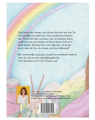 achterkant boek droomvangen affirmatie