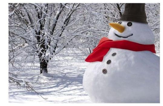 sneeuwpop aankleedset