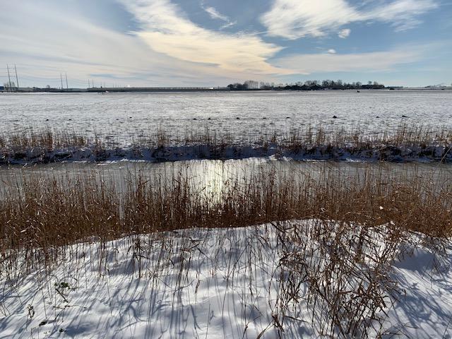 view sneeuw en ijs 2021