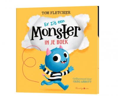 Kinderboeken over monsters er zit een monster in je boek