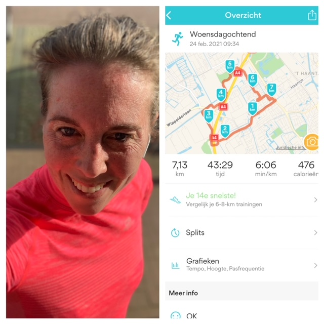 hardlopen woensdag feb