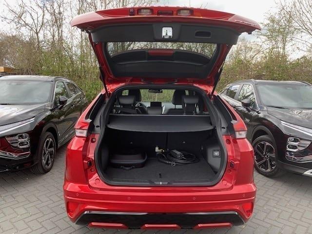 Mitsubishi Eclipse Cross PHEV gezinsauto achterbak