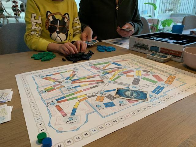 Review Ticket to Ride bordspel en Print and play