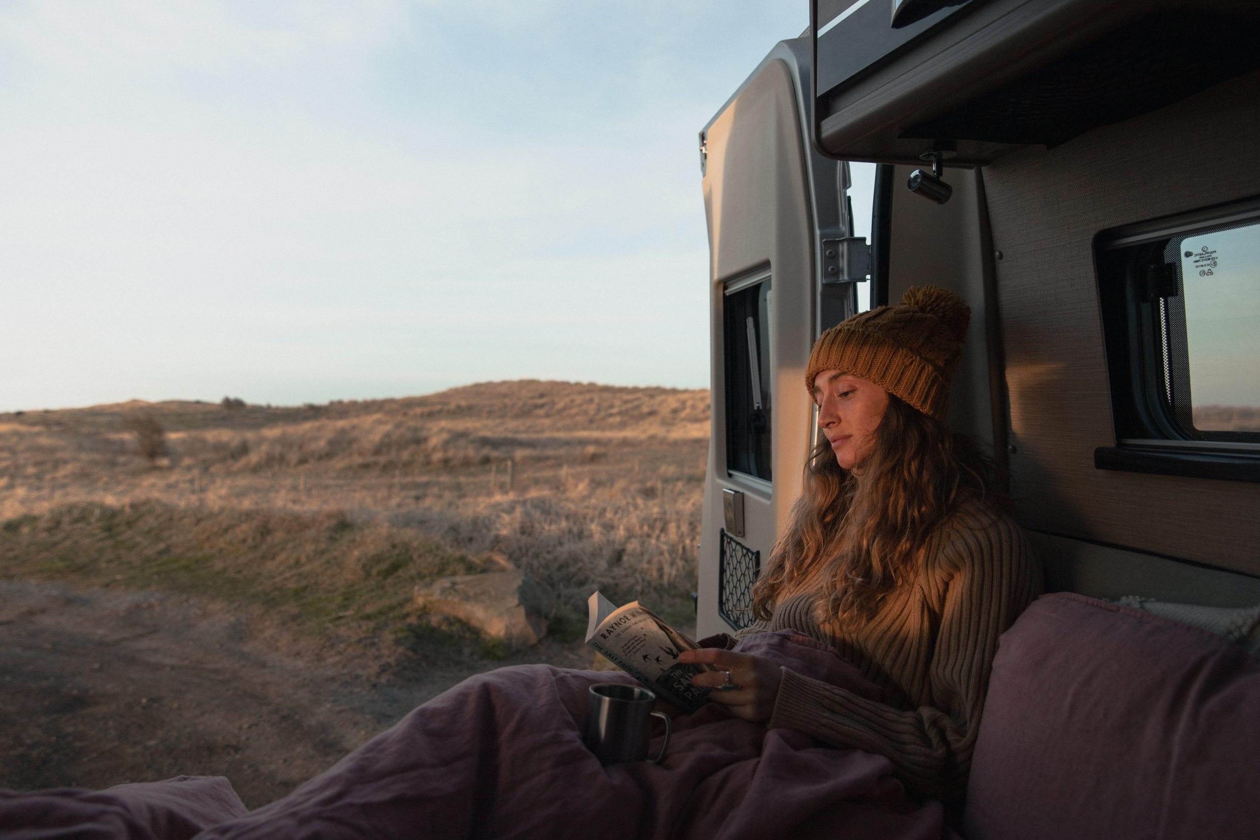 Het nieuwe reizen, met een gehuurde camper op pad relaxen