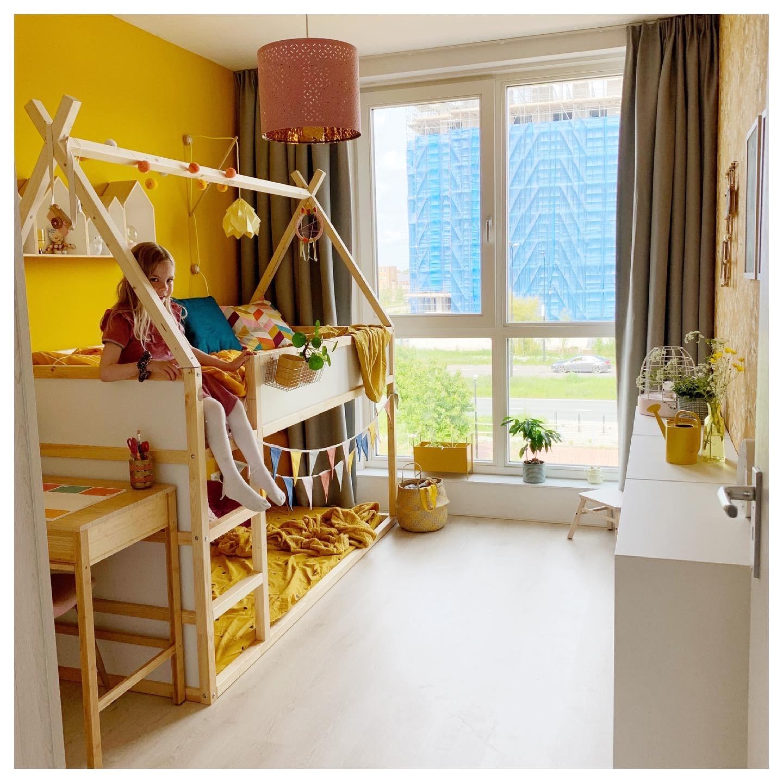 Ikea Kura bed huisje maken