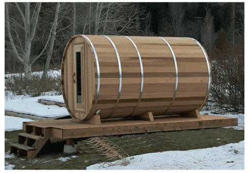 Scandinavisch leven met een jacuzzi en sauna