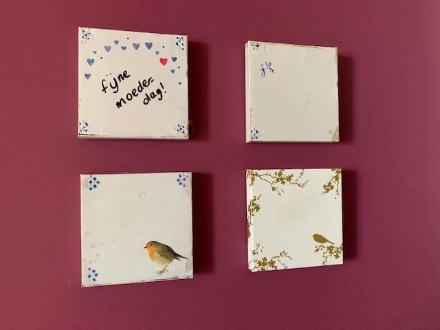 Wisdom Tiles als cadeau door de brievenbus versturen voor moederdag