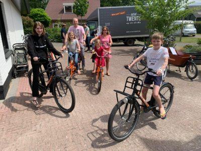 Actief twente fietstocht