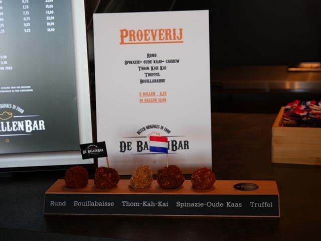 Foodhall in Scheveningen proeverij ballenbar