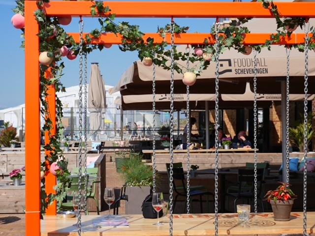 Foodhall in Scheveningen