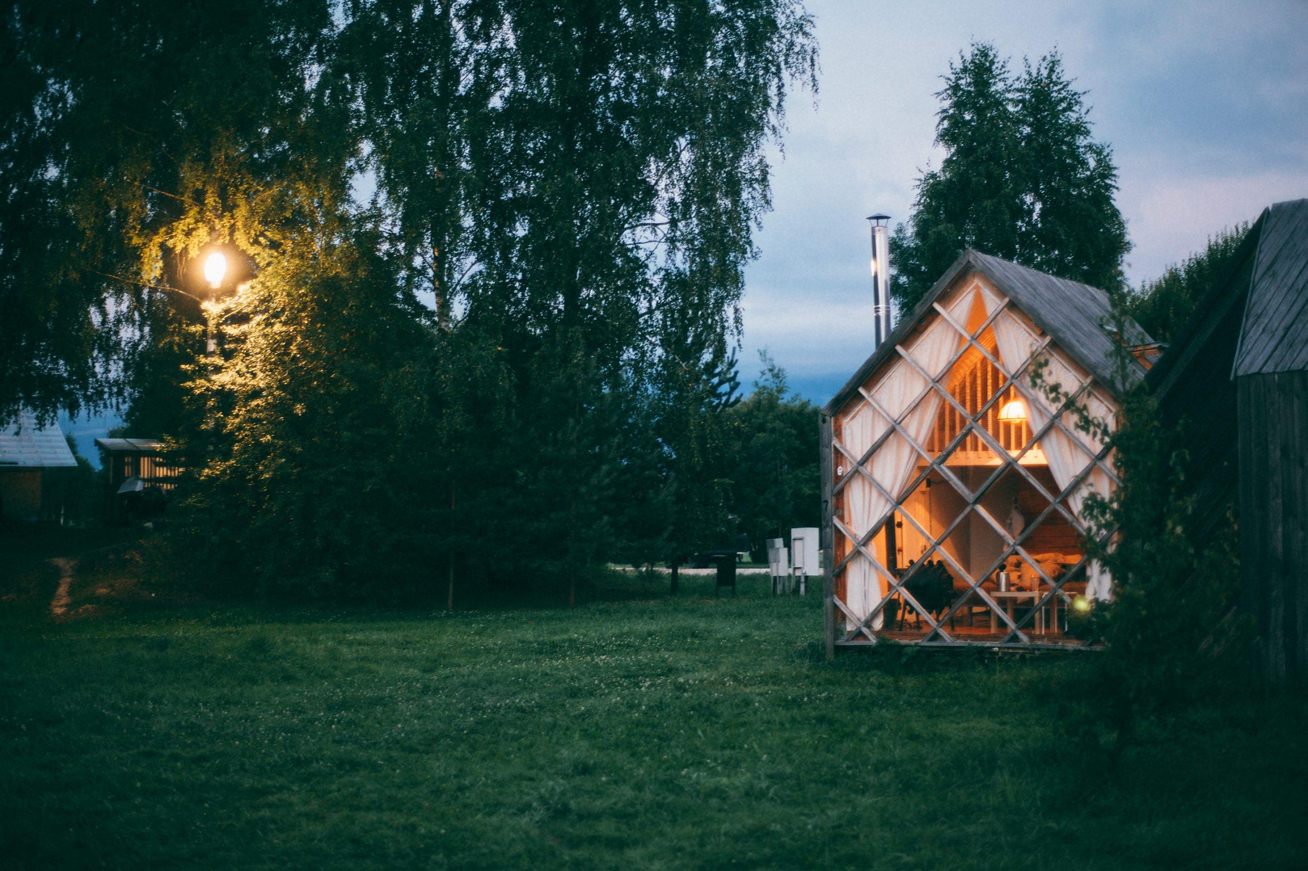 Opslagruimte huren bij een verbouwing tiny house