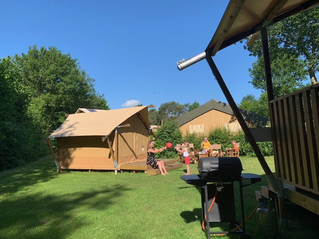 glamping tent denekamp