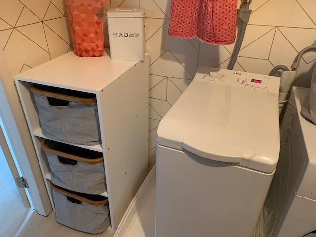 wasmanden en wasmachine