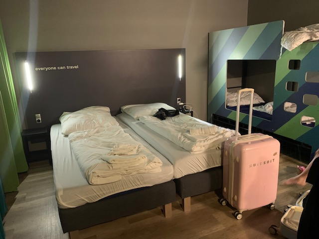 A&O hostels Bremen groot bed