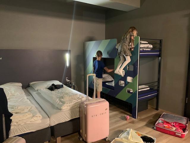 A&O hostels Bremen kids stapelbed