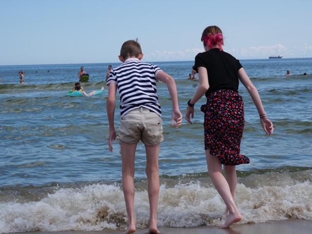 Sterre en Yuren sopot zee
