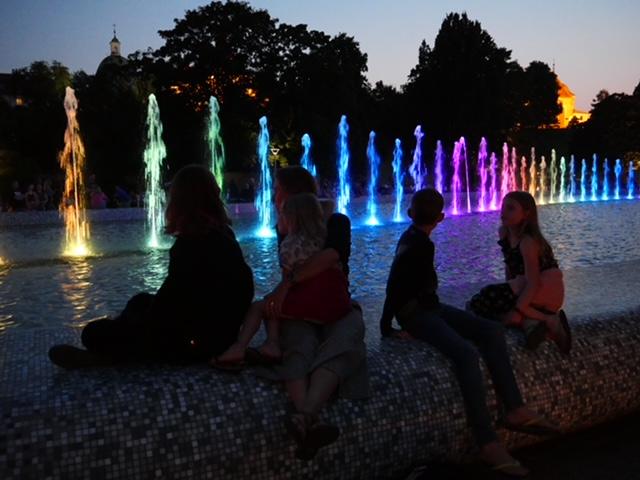 fontein warschau