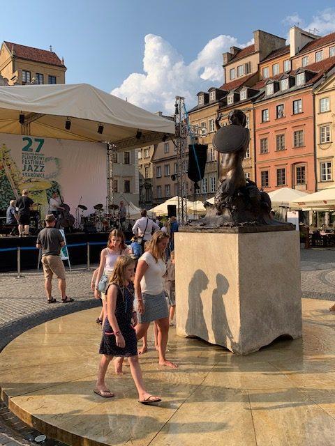 fontein zeemeermin warschau