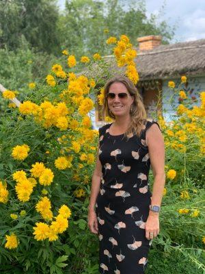 Juut gele bloemen