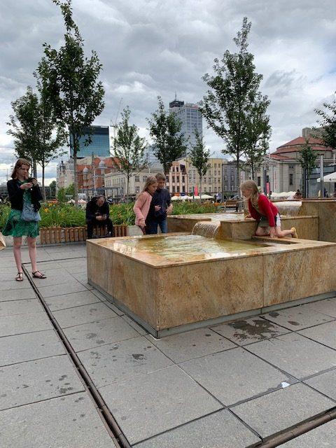 Katowice polen fonteinen