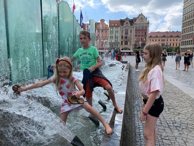fontein wroclaw