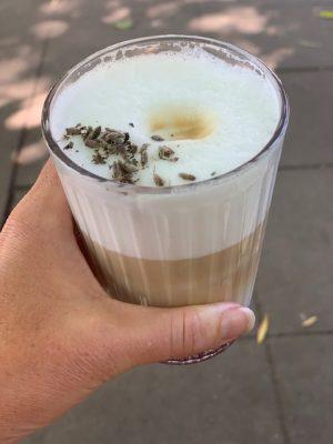 lavendel koffie