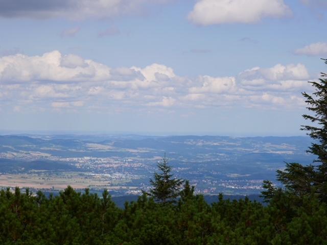 uitzicht bergtop