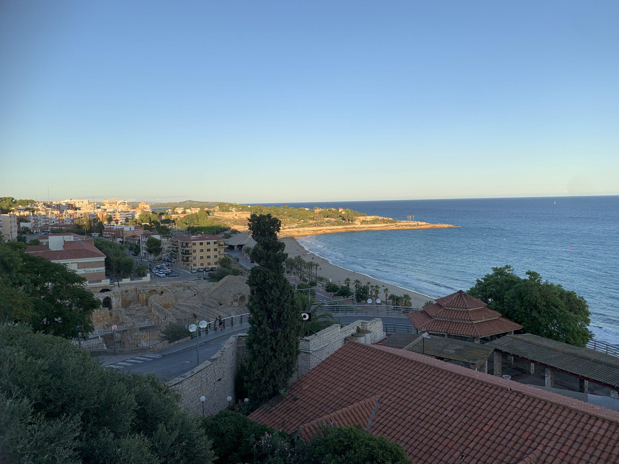 De Costa Dorada Tarragona uitkijkpunt