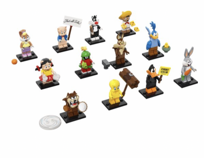 lego mini figures hype op schoolplein