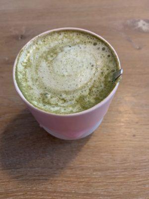 macha latte